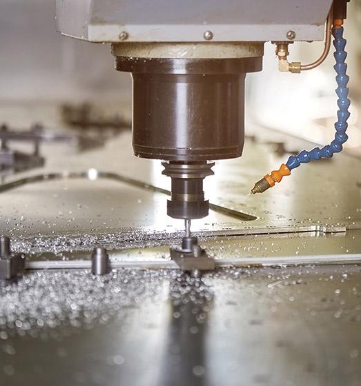 Wiercenie głębokich otworów CNC
